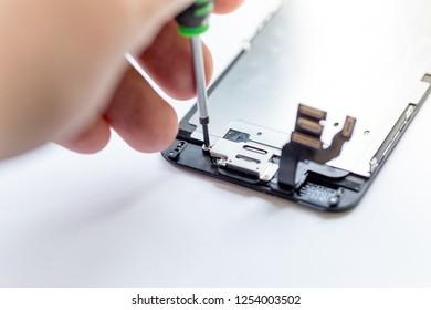 Cell phone screen damage repair yourself