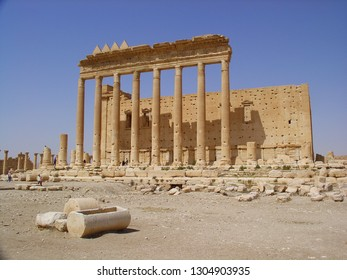 Cella of the Temple of Bel in 2005 (destroyed in 2015)  Palmyra, Syria