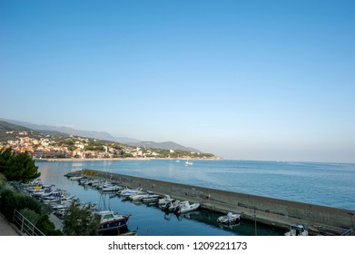 Celle Ligure bay picturesque village