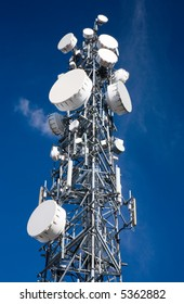 Cellular Communications or Microwave Antenna Tower