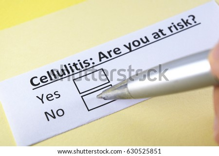 Cellulitis You Yes No Stock Photo (Edit Now) 630525851 - Shutterstock