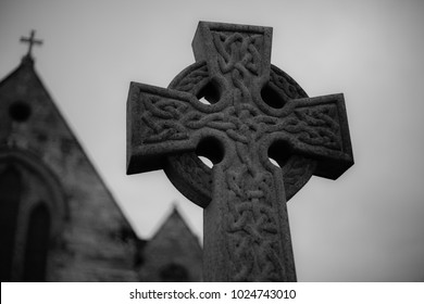 celtic cross landscape.