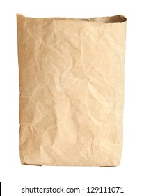Cement bag isolated on white background