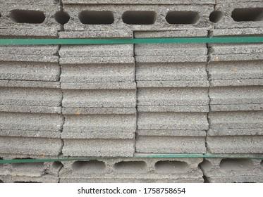 Cement Block Bricks for Construction.