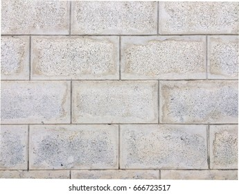 Cement block wall texture pattern backdrop