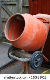 Cement or concrete mixer