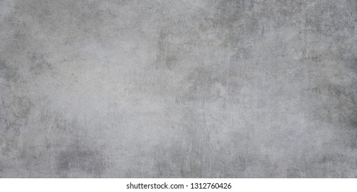 Cement and concrete texture background. Plastered concrete wall or cement floor, rough building material of gray color.