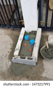 Cement covered water meter, Anti-theft