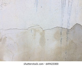 Cement crack wall texture background