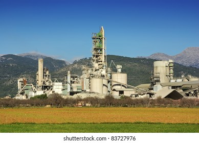 Cement Factory facilities in Majorca (Spain)