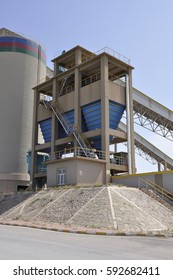 cement factory  machinery and manufacture work process In the countryside