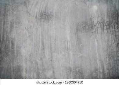 Cement floor texture indoor dirty background, Grey cement background