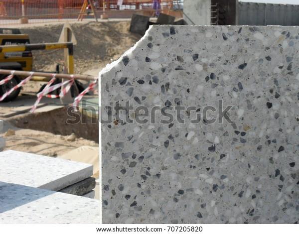Cement Floor Tiles Terrazzo Floor Tiles Stock Photo (Edit Now) 707205820