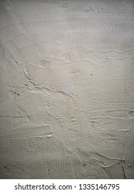 Cement mixed in the proportion of plastering