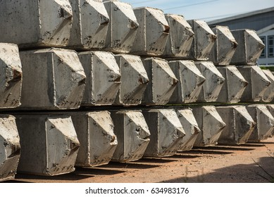 Cement pile bars