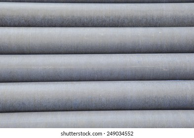 Cement pipes for building