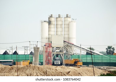 cement plant working