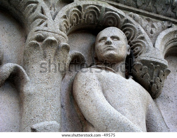 Cement sculpture