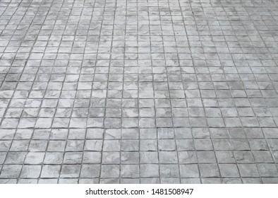 Cement Block Walkway Images, Stock Photos & Vectors