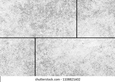 Cement tile floor pattern and background