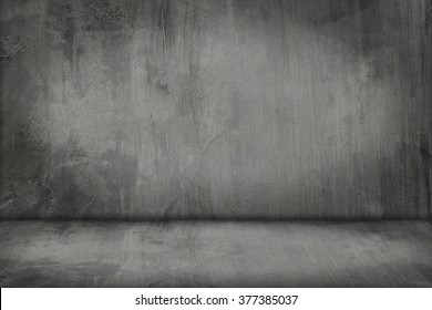 It is Cement wall and floor for pattern and background.