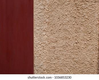 cement wall with metal door texture background
