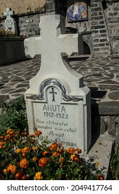 The cemetery of Sfânta Ana Rohia Monastery is located on a cornice outside the monastery. Here rest the monks who lived in the monastery of St. Anne from the founding of the monastery until today