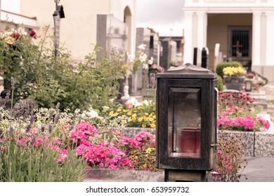 Cemetery in Austria