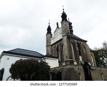Cemetery Church of All Saints with Ossuary at Sedlec, Kutna Hora, Czech Republic