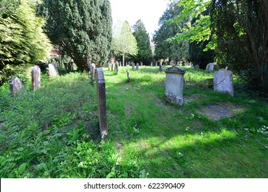 A cemetery in Horsham, West Sussex