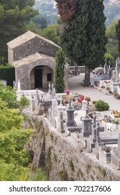 Cemetery in Saint-Paul-de-Vence, France