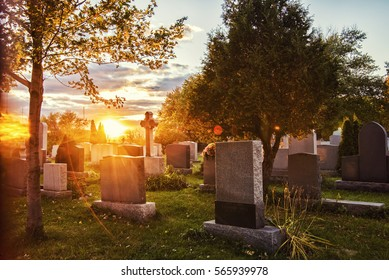 cemetery sunrise