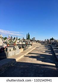 Cemetery tombstone tombstones