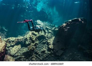 Cenote Mayan Blue