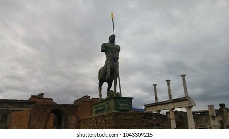 Centaur statue in Pompeii - Roman Empire