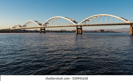 Centennial Bridge Crosses the Mississippi River from Davenport, Iowa to Moline, Illinois