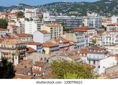 Center of Cannes, France.