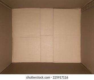 center of the carton