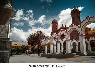 Center of the city of Potosi, Bolivia