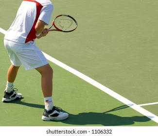 Center Court - Tennis Match