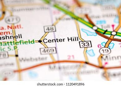 Center Hill Florida Map.Orlando Florida Usa On Map Stock Photo Edit Now 1120512761
