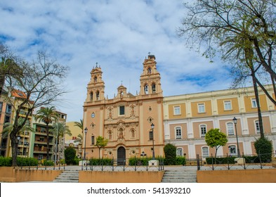 Center of Huelva city, Andalusia, Spain