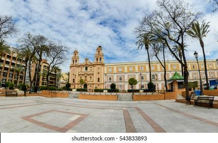 Center of Huelva city, Andalusia, Spain