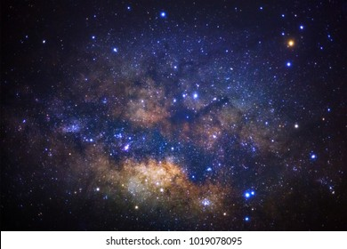 The center of milky way galaxy