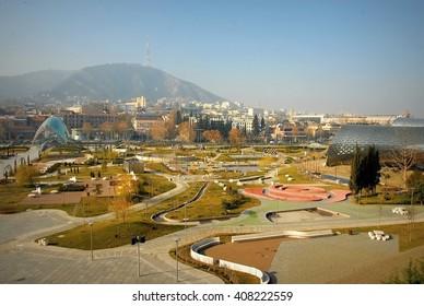 center panorama - Tbilisi city