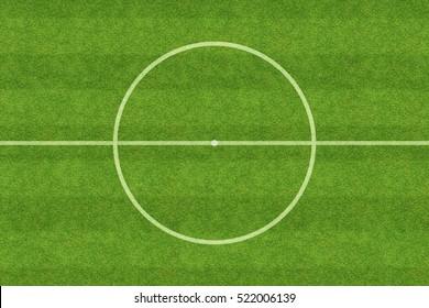 center of soccer field
