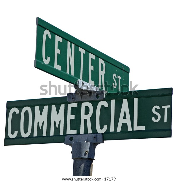 Center st. & Commercial St.