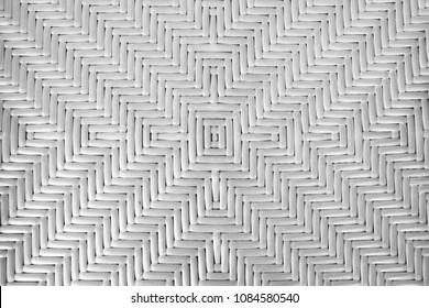 center style patteren basket weav monochrome