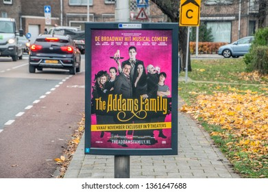 Centercom Billboard The Addams Family At The Netherlands 2018