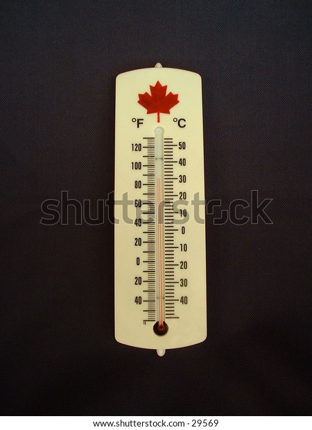 Centigrade and Fairenheight thermometer